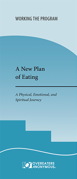 Cover of A New Plan of Eating pamphlet